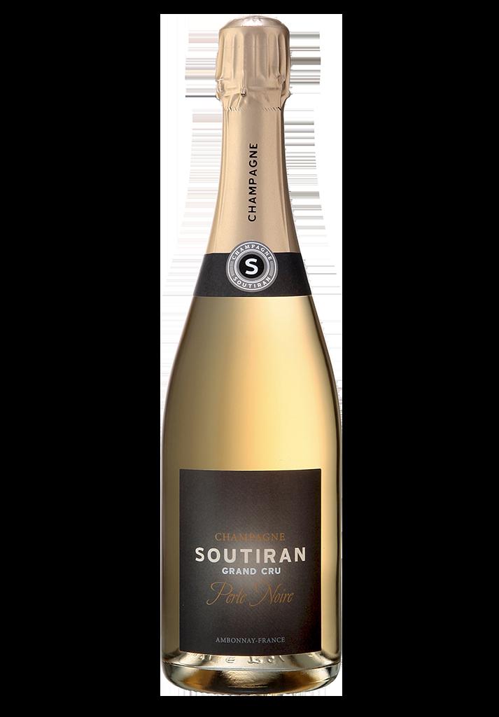Champagne Soutiran Cuvee Perle Noir Brut Grand Cru-1