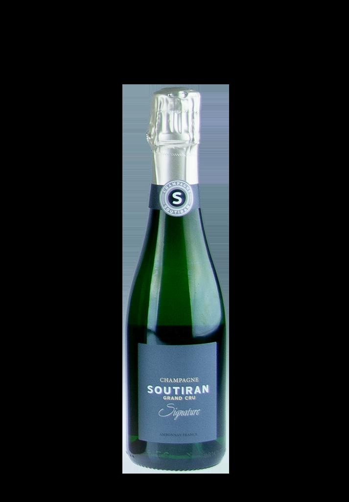 Champagne Soutiran Brut Cuvee Signature Grand Cru 0,375ltr-1