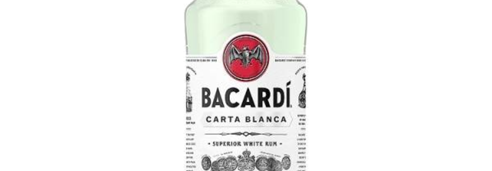 BACARDI Carta Blanca 1.0ltr