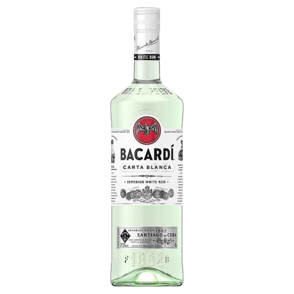 BACARDI Carta Blanca 1.0ltr-1