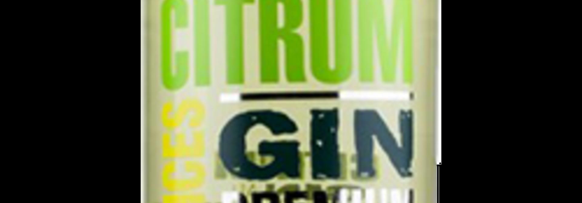 Citrum Citrus & Spices Premium Gin 0.7ltr