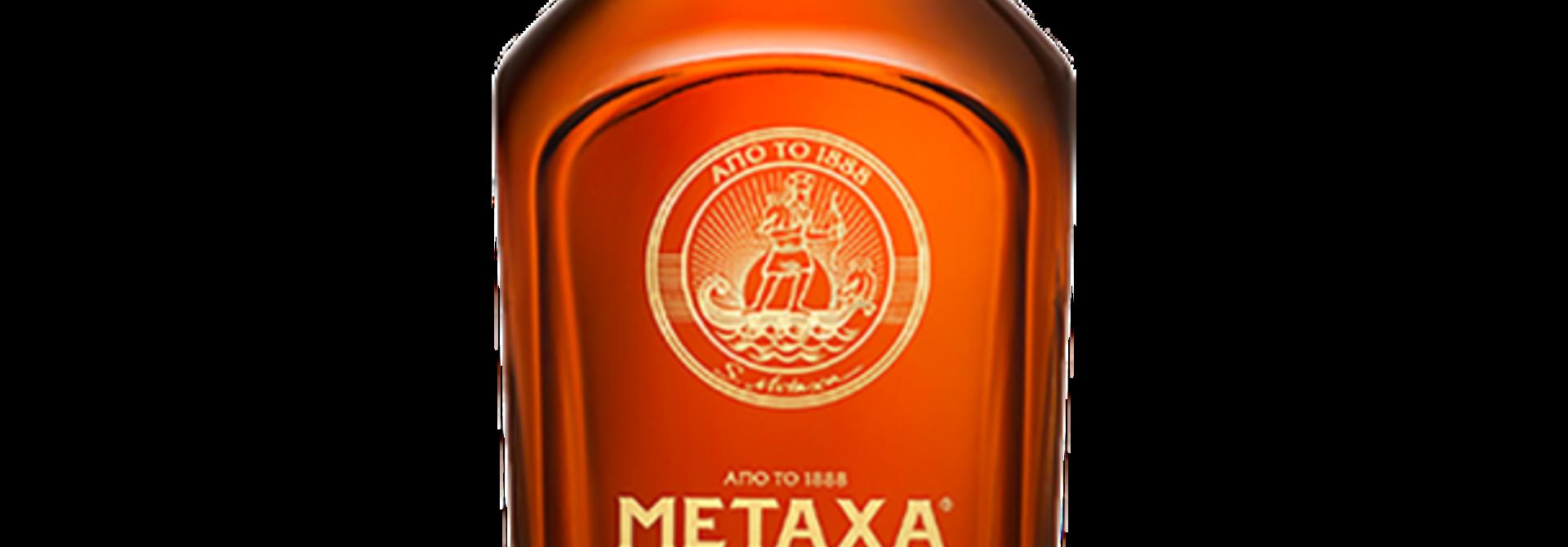 METAXA Brandy 12 Star 0.7ltr