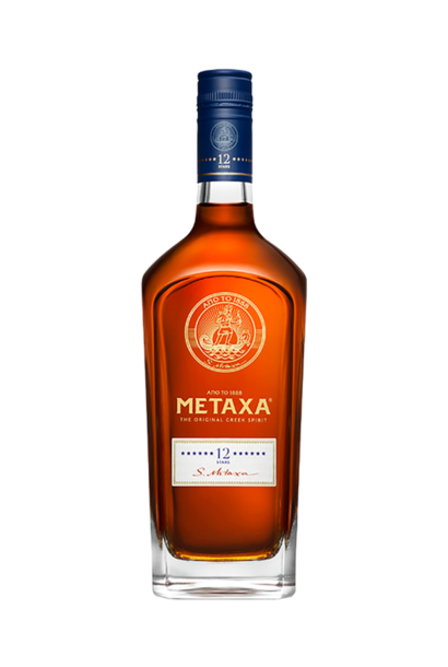 METAXA Brandy 12 Star 0.7ltr