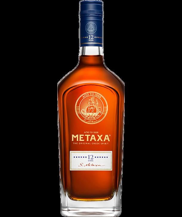 METAXA Brandy 12 Star 0.7ltr-1