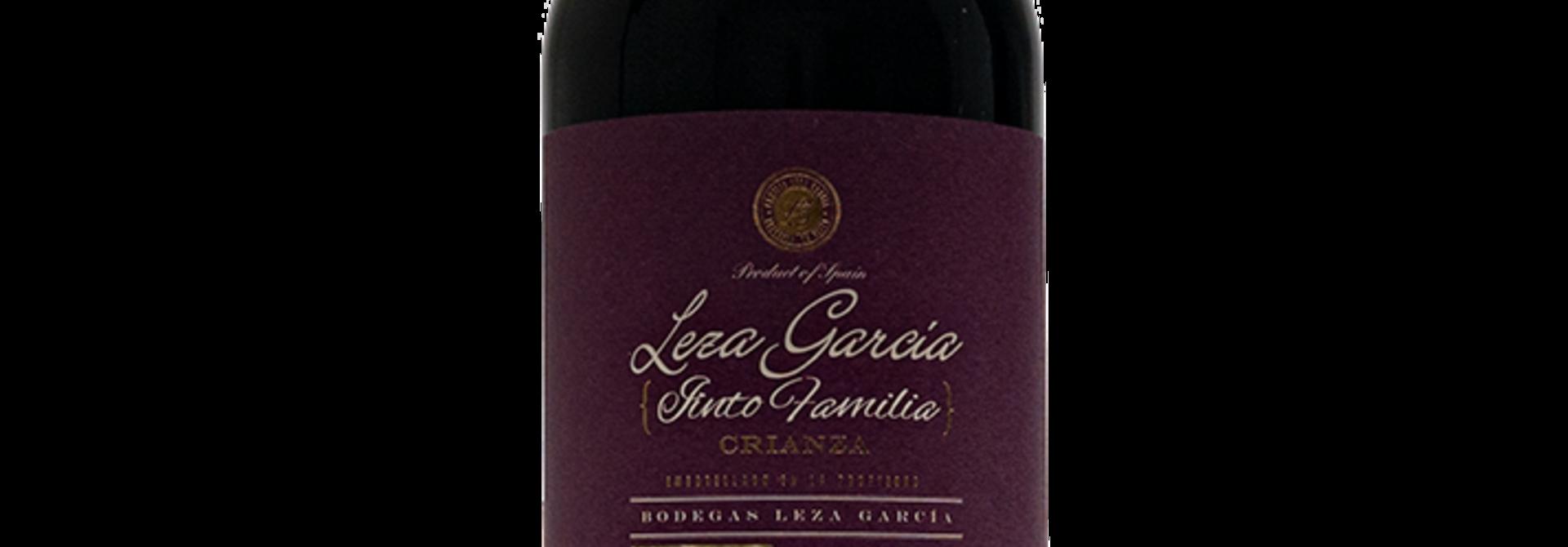 Rioja Crianza Leza Garcia Tinto Familia 2015