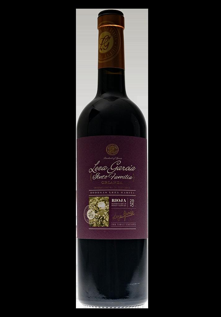 Rioja Crianza Leza Garcia Tinto Familia 2015-1
