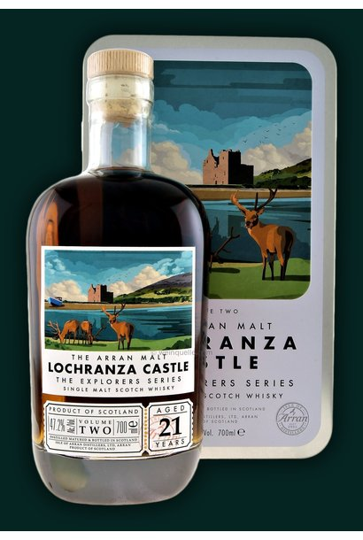 ARRAN THE EXPLORER SERIES 2nd EDITION LOCHRANZA CASTLE