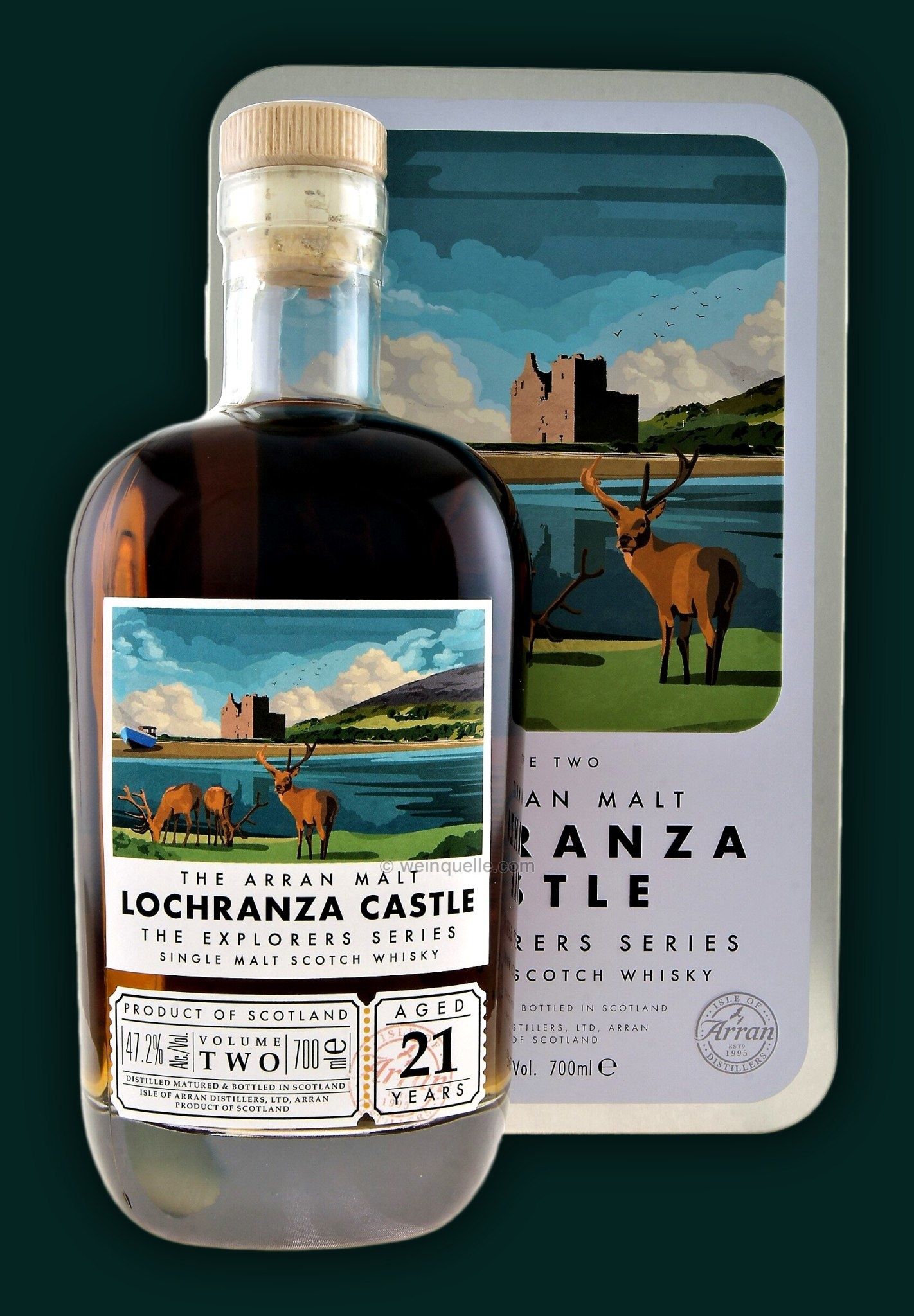 ARRAN THE EXPLORER SERIES 2nd EDITION LOCHRANZA CASTLE-1