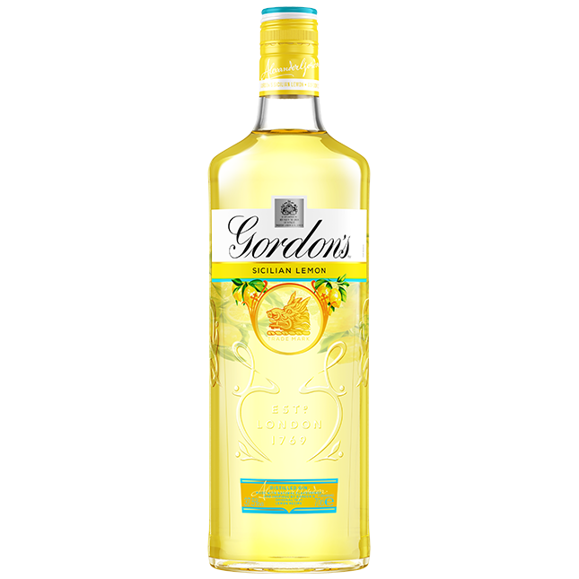 GORDON Sicilian Lemon Gin-1