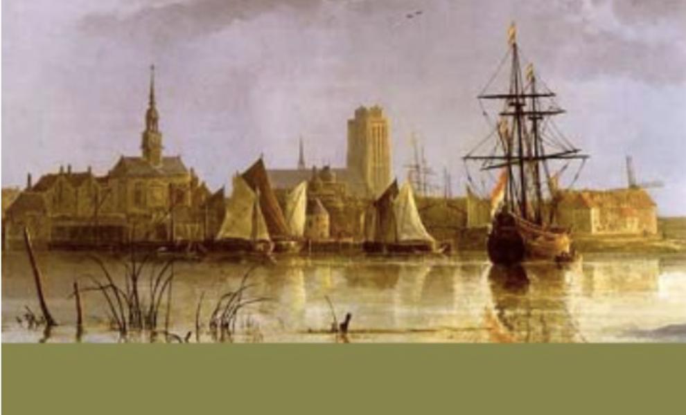 Wijngaard Bilderhof op het eiland van Dordrecht.