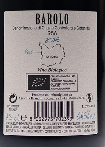 Barolo Brandini  R56 - 2016-3