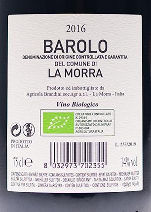 Brandini Barolo del Comune di La Morra 2016-2