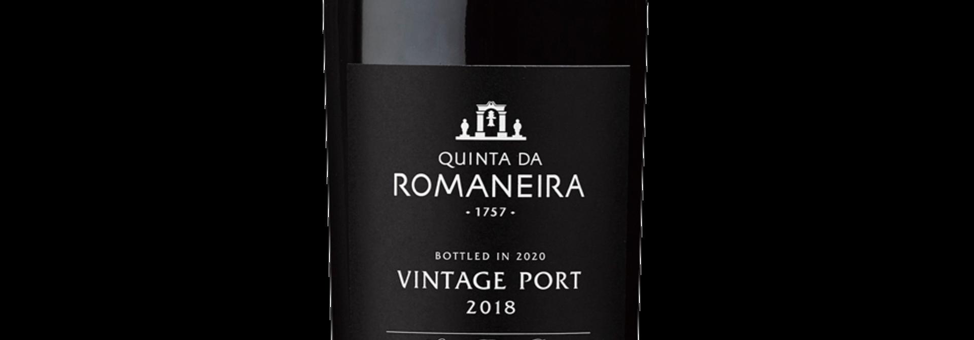 Quinta da Romaneira Vintage Port 2018
