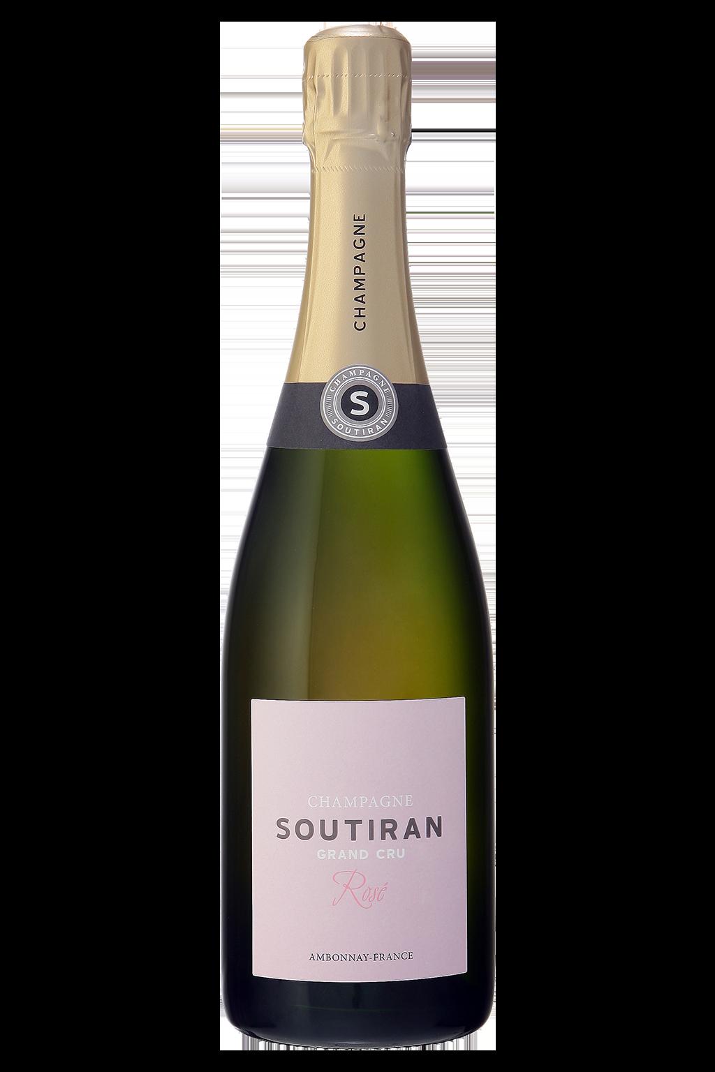 Champagne Soutiran Cuvee Rose Grand Cru-1
