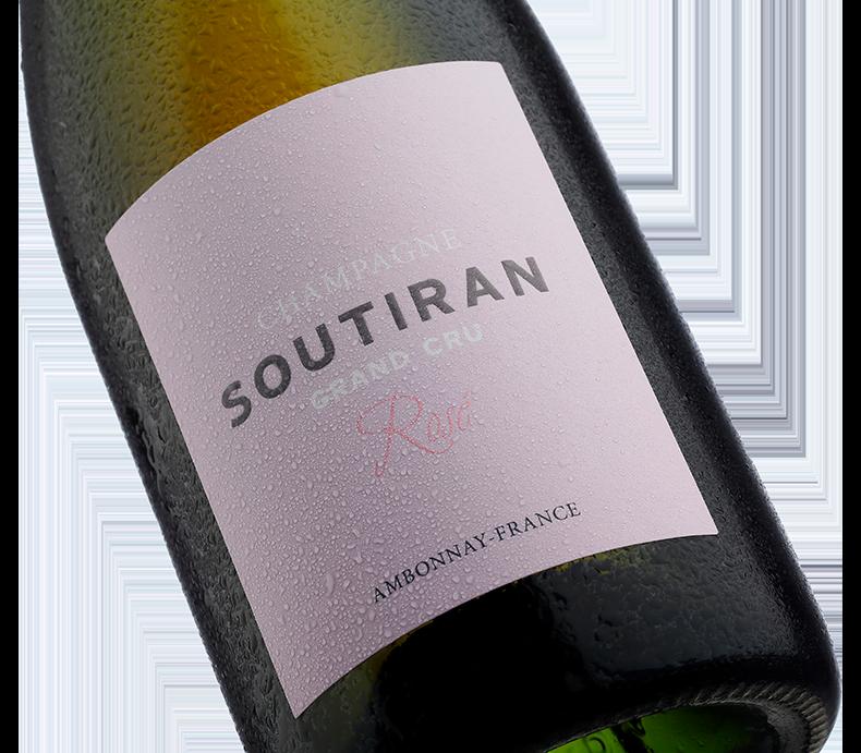 Champagne Soutiran Cuvee Rose Grand Cru-2