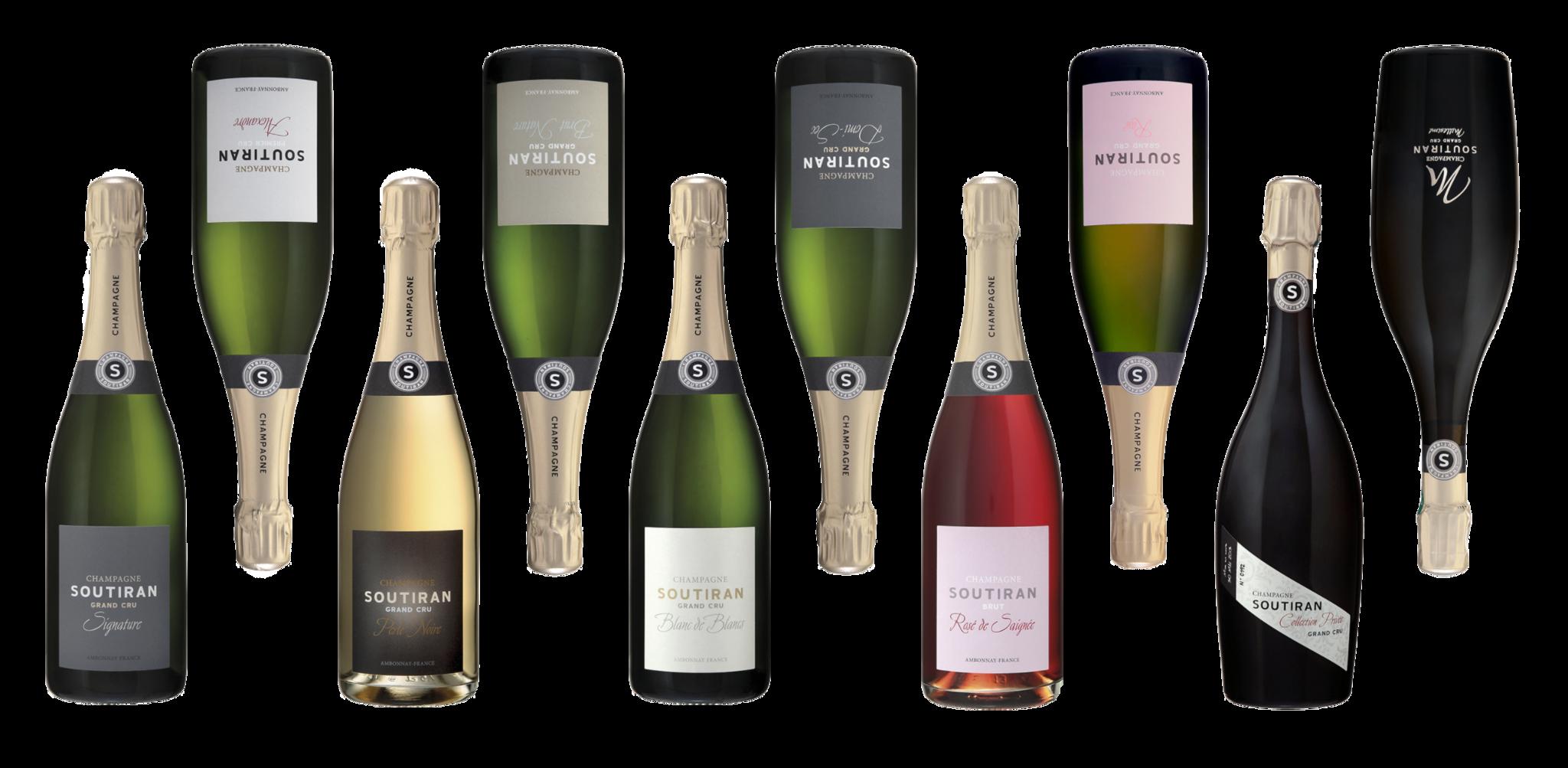 Champagne Soutiran Collectie