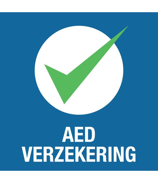 Zorgeloos pakket AED verzekering prijs voor 4 jaar