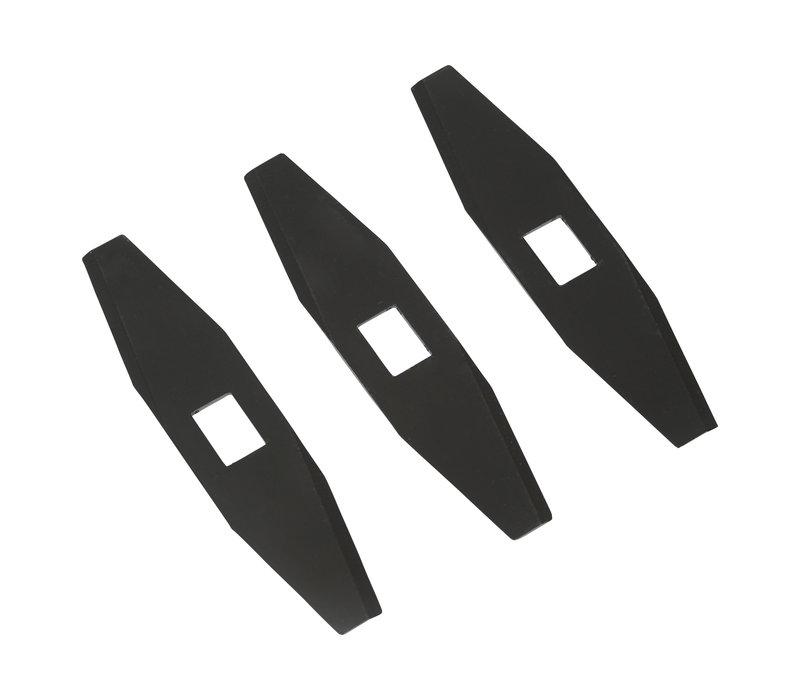 Messen voor de robotmaaiers Rob en HJ (4 cm)