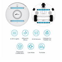 Zoef Robot UV-C robot dood bacteriën en huisstofmijt