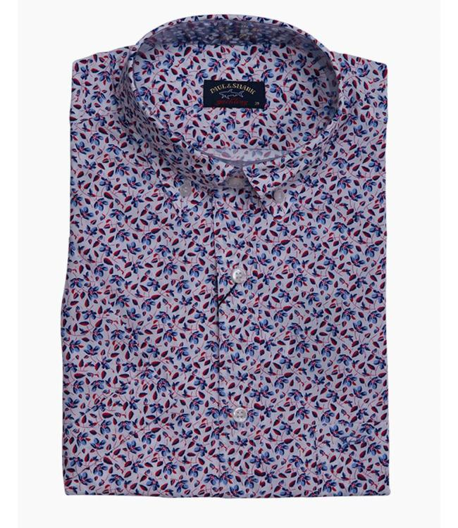 PAUL & SHARK E17P3209 035 overhemd korte mouw