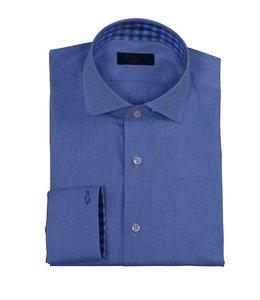 PAUL & SHARK 0380SFC - 130 overhemd lange mouw blauw