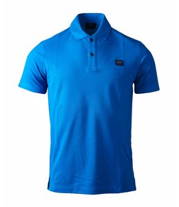 PAUL & SHARK COP1000-049 polo kobalt blauw
