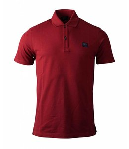 PAUL & SHARK COP1000 - 142 poloshirt bordeaux rood