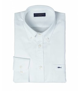 PAUL & SHARK COP3000 - 010 overhemd lange mouw wit