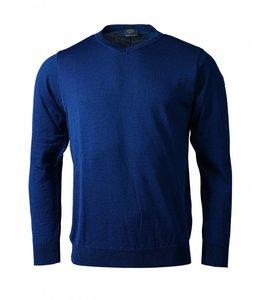PAUL & SHARK COP1041 - 573 pullover v-hals blauw