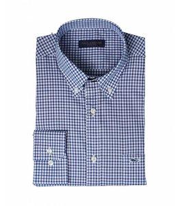 PAUL & SHARK COP3007 - 001 overhemd lange mouw blauw/wit