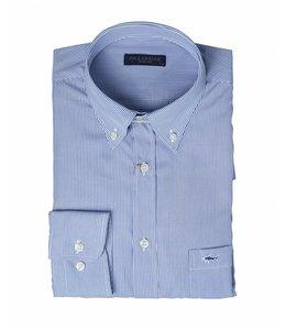 PAUL & SHARK COP3003 - 018 overhemd lange mouw blauw/wit