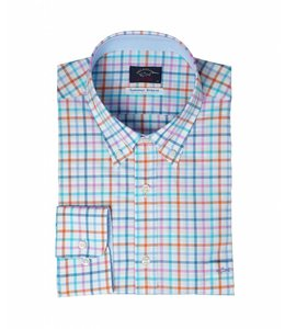 PAUL & SHARK 3262 - 260 overhemd lange mouw pastel