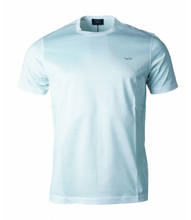 PAUL & SHARK E19P1028 - 010 t-shirt wit