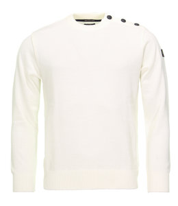 PAUL & SHARK COP1032 - 469 pullover ronde hals off-white
