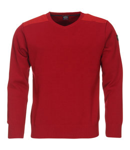PAUL & SHARK COP1027 - 813 pullover v-hals rood