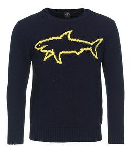 PAUL & SHARK 1444 - 050 pullover ronde hals