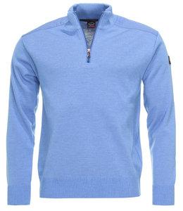 PAUL & SHARK COP1028 - 748 pullover met rits blauw