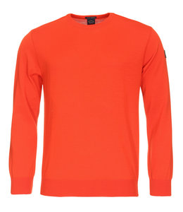 PAUL & SHARK COP1040 - 461 pullover ronde hals oranje