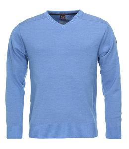 PAUL & SHARK COP1027 - 748 pullover v-hals lichtblauw