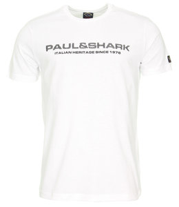 PAUL & SHARK E20P1082 - 010 T-shirt wit