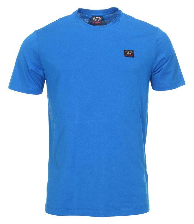 PAUL & SHARK COP1002-049 T-shirt blauw korte mouw