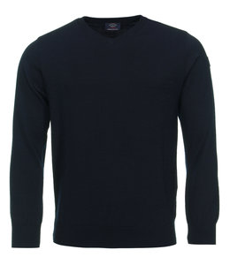 PAUL & SHARK COP1041 - 050 pullover v-hals donkerblauw