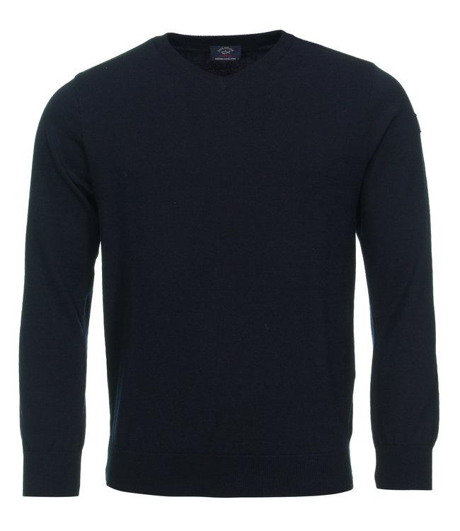 PAUL & SHARK C0P1041-050 pullover v-hals donkerblauw