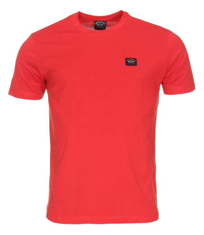 PAUL & SHARK E20P1002 - 577 T-shirt rood met korte mouwen