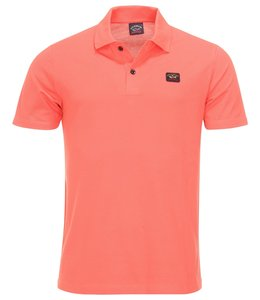 PAUL & SHARK COP1000-694 polo koraal roze
