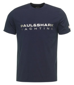PAUL & SHARK E20P1001 - 013 T-shirt donkerblauw