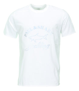 PAUL & SHARK E20P1000 - 013 t-shirt wit
