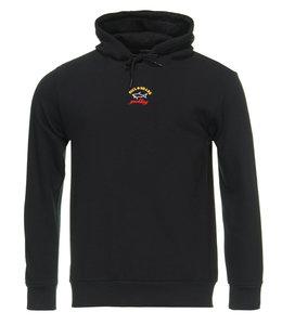 PAUL & SHARK 1823 - 011 sweatshirt met capuchon zwart