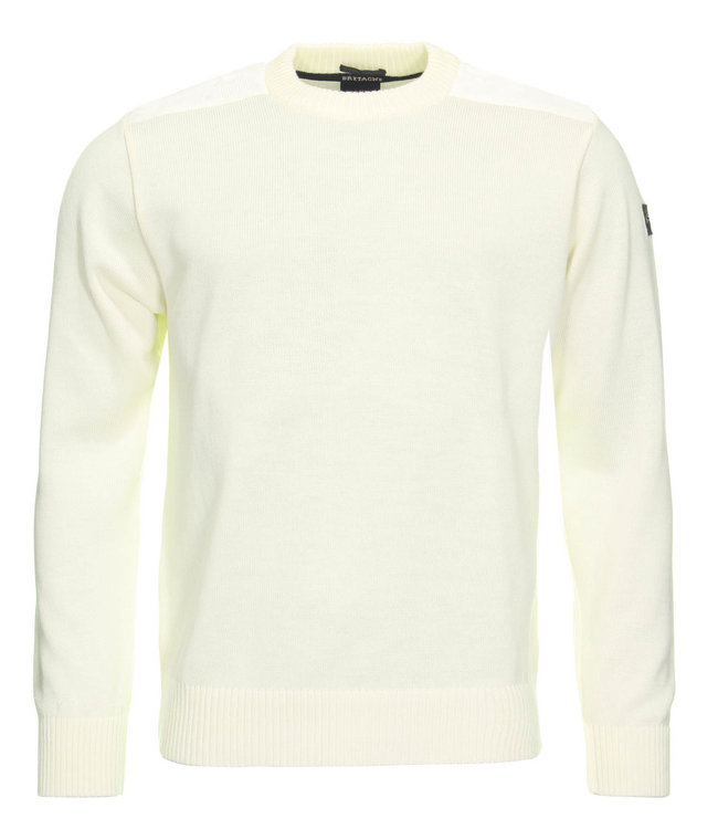 PAUL & SHARK C0P1030 - 469 pullover ronde hals wit