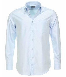 PAUL & SHARK 3104 - 011 overhemd lange mouw lichtblauw